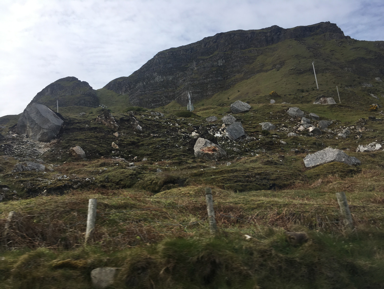 northern ireland coast border
