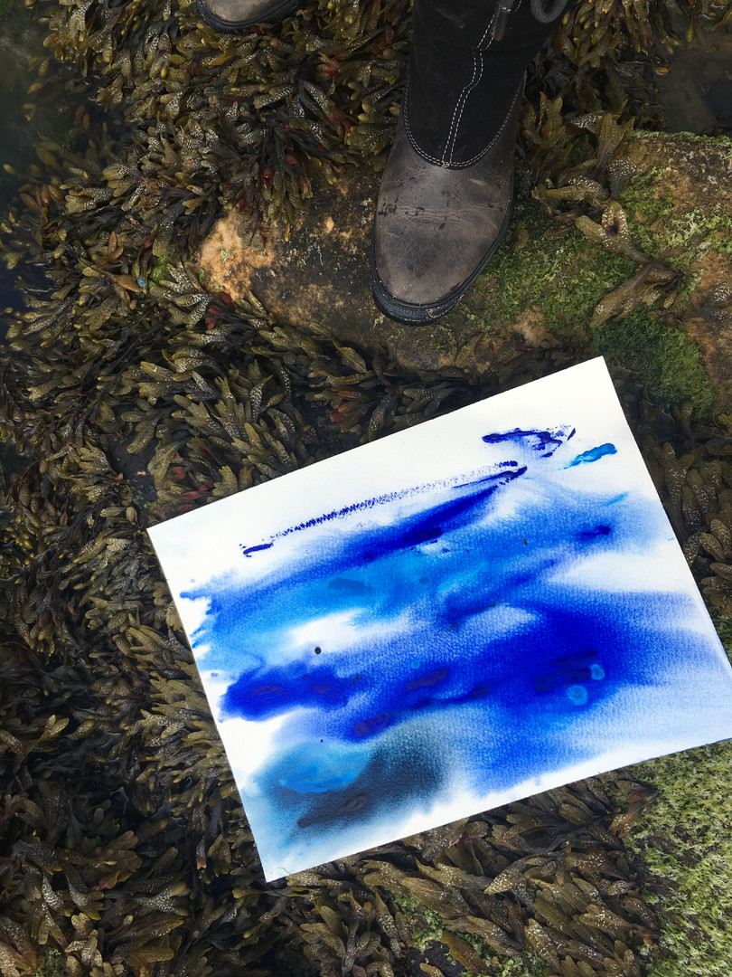 ocean painting collaborative