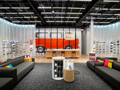 Nike impulsiona a expansão em pequenos formatos com a nova loja Nike Live em Oregon