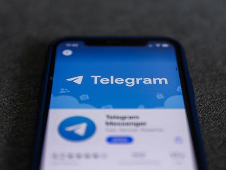 Canal de notícias no Telegram