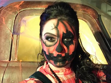 Punk Scarecrow: Fantasia criativa e fashion de Halloween