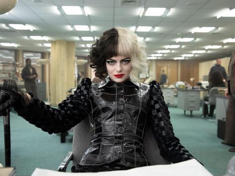 A obsessão de Cruella por moda no novo  filme da Disney