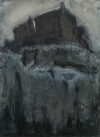 Kate Henderson Castle detail mixed Media