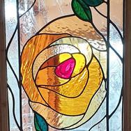 12. Rose Panel installed detail of panel