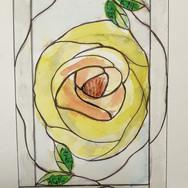 13. Rose Panel design sketch