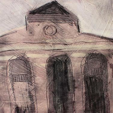 5.-Wee-House--ii-mixed-media-on-card-ima