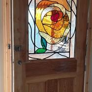 11. Rose Panel installed