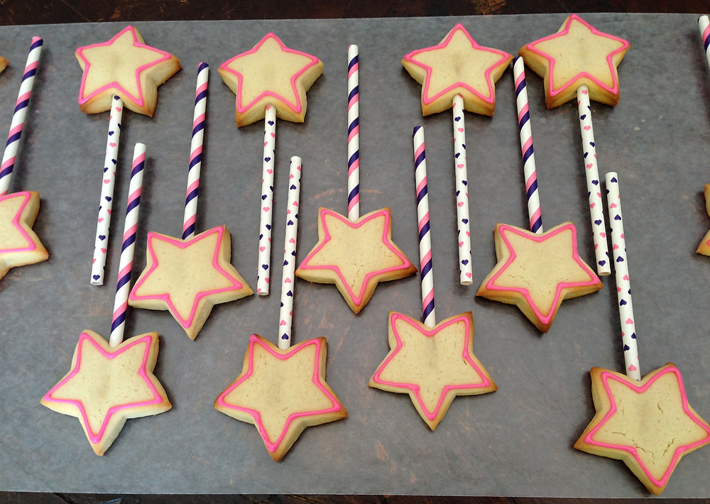 Cookie Wands Outlined