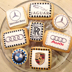 Car Logo Cookies