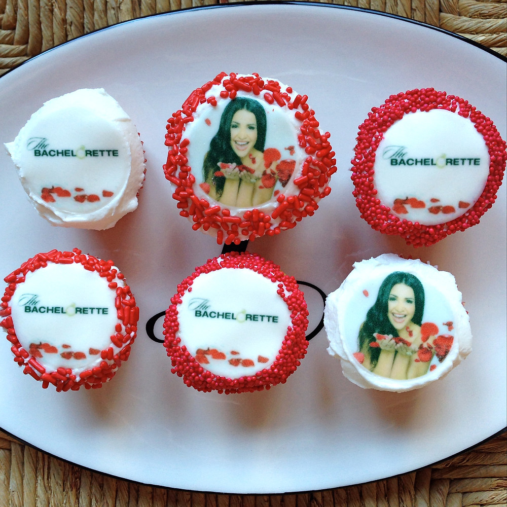 Mini Cupcakes with Edible Images