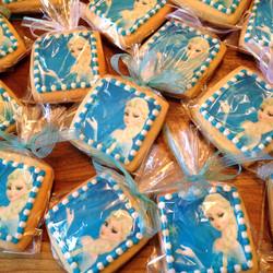 Disney's Frozen Elsa Cookies