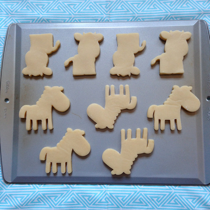 Barnyard Birthday Cookies