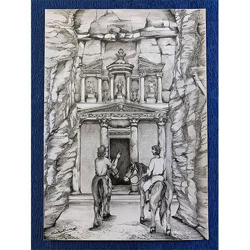 Gesù e Sajher dai Nabatei
