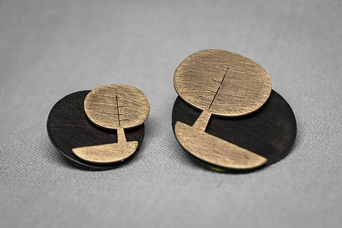 Orecchini Double Trees