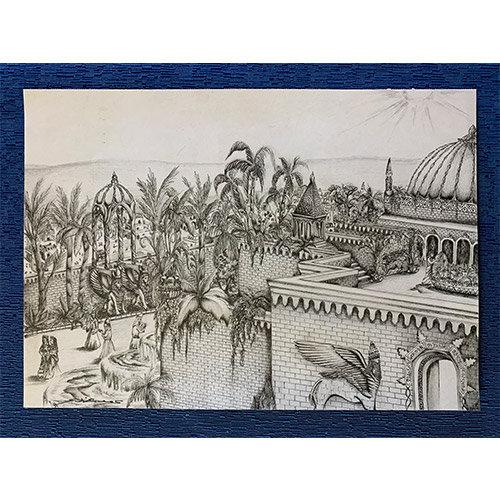 Gesù e Sajher a Babilonia