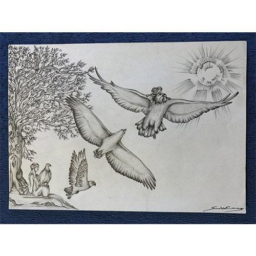 Gesù e il volo dell'Aquila