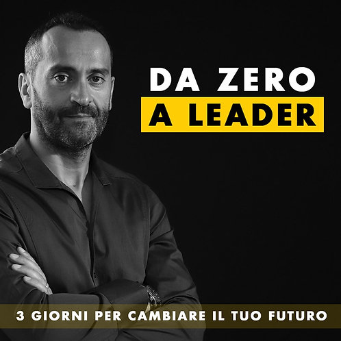 Biglietto DA ZERO A LEADER