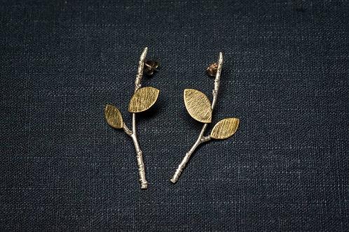 Orecchini Leaves