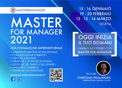 Master for Manager