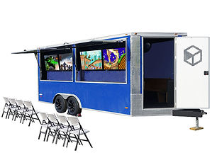 start a video game truck business