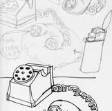 Zeichnung Scribbles
