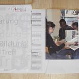 Broschüre Pro Arbeit Zug
