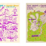 Flyer für Variete Club Konzerte