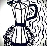 Acryl Zeichnung Entwurf