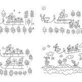 Scribble Storyboard Entwurf