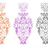 Kreide Digital Entwurf