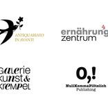 Design verschiedener Logos