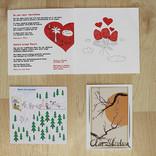 verschiedene Karten Flyer