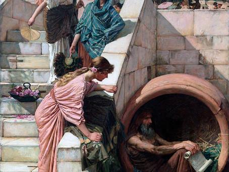Diogenes, por John William Waterhouse