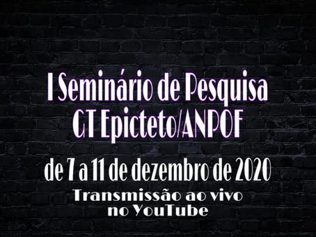 I SEMINÁRIO GT EPICTETO