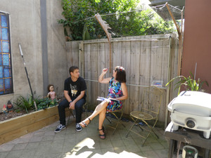 Providing an on site garden consultation
