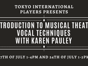 Musical Theatre Workshop: Introduction to Vocal Techniques with Karen Pauley