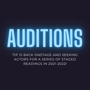 LIVE events are returning! Audition Call!