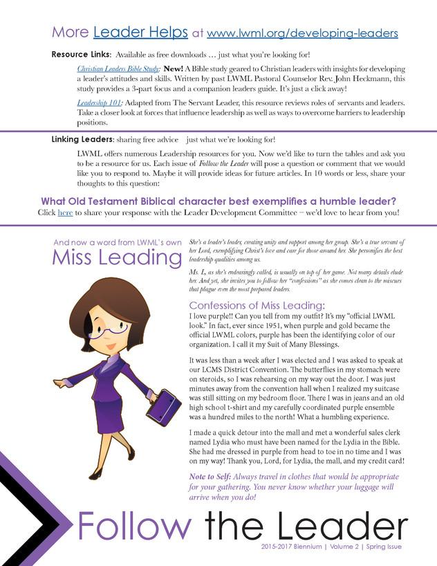 LWML - Newsletter Design (page 2)