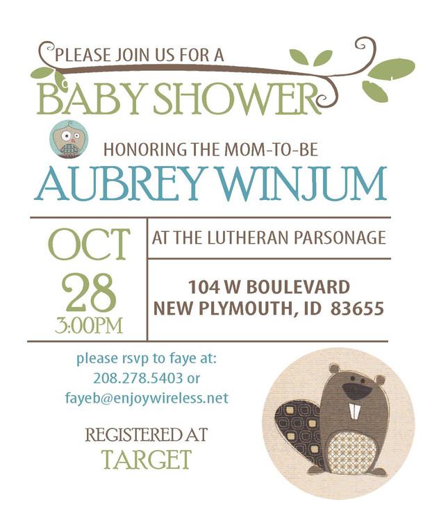 Babyshower Invititation