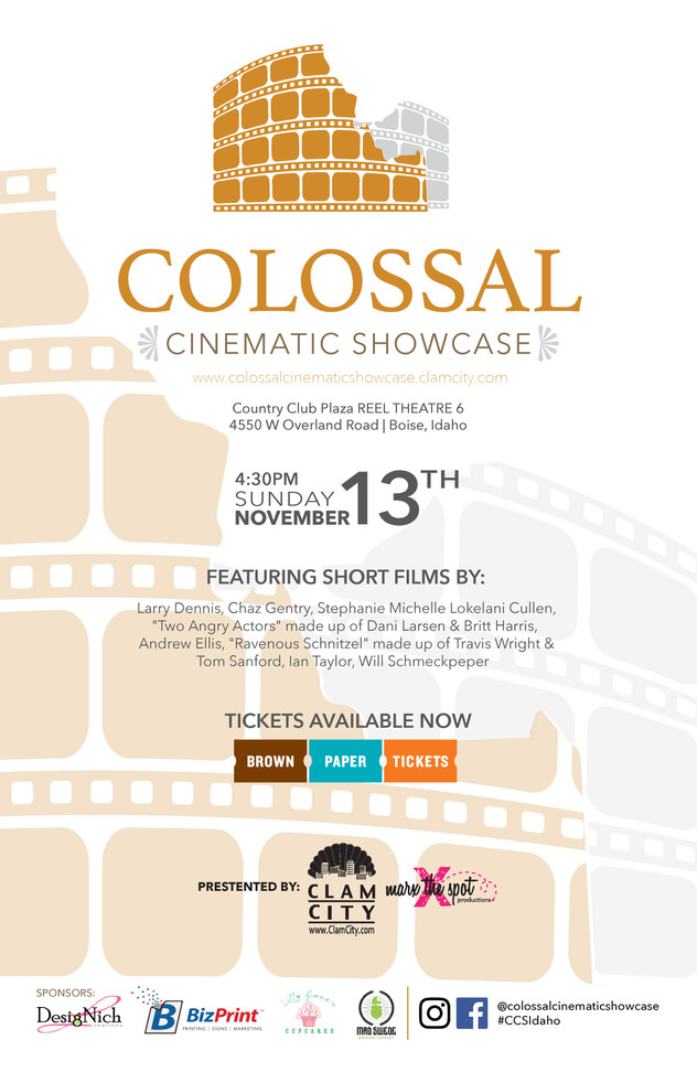 Colossal Cinematic Showcase Poster Design