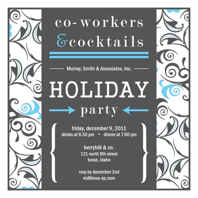Company Party - Invitation Design