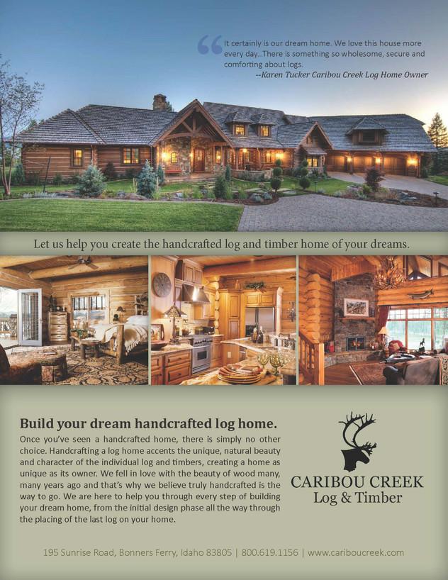 Caribou Creek - Ad Design