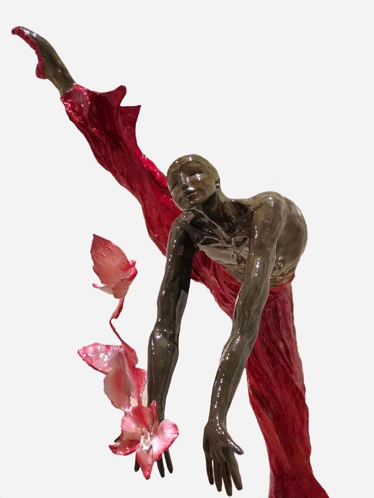 YARILO - bronze peint