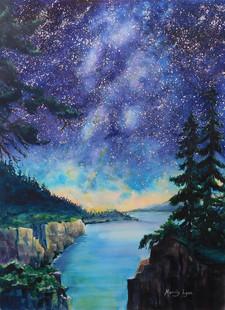 Milky Way Maine