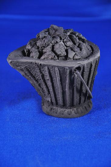 Coal Bucket, with Coal