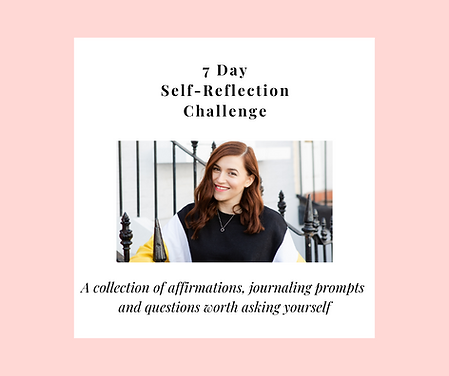 Copy of Self-Reflection Challenge Insta.