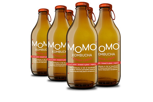 MOMO Kombucha Ginger & Lemon