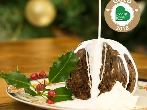 Traditional, Handmade & Award-Winning Christmas Pudding 142gg