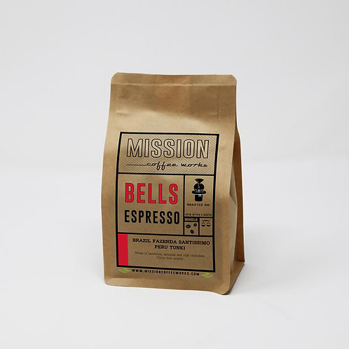 Mission Coffee Bells (Beans & Ground)