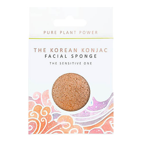 THE ELEMENTS AIR WITH CALMING CHAMOMILE & PINK CLAY KONJAC FACIAL SPONGE